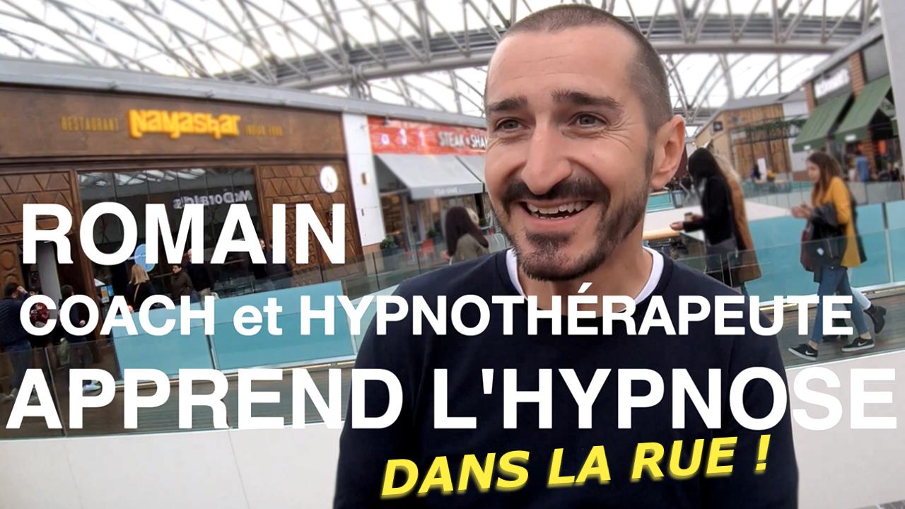 Il découvre l'hypnose dans la rue !